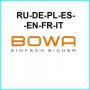 BOWA каталоги RU-DE-PL-ES-EN-FR-IT 2016