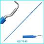 Электрод лапароскопический проволочный L-крючок 45 см