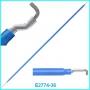 Электрод лапароскопический проволочный плоский L-крючок