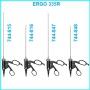 Биполярный инструмент для микро-лапароскопии ERGO 335R